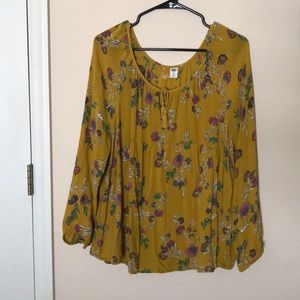 Old Navy XL blouse